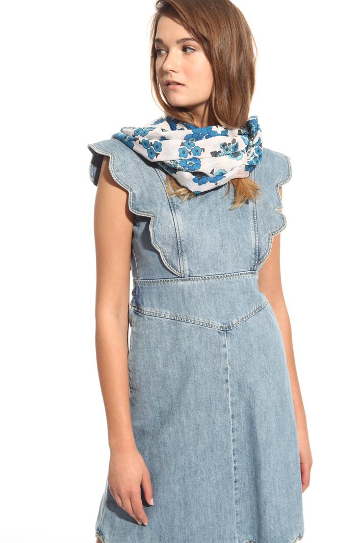 Cotton voilé scarf Intrend