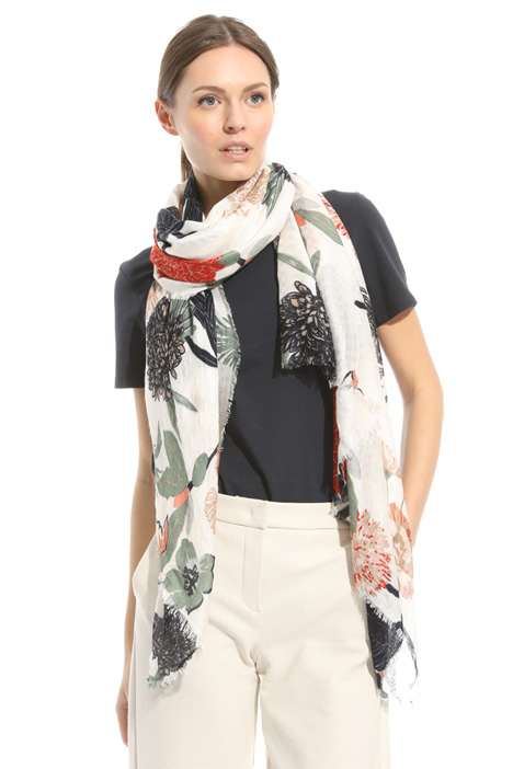 Printed viscose scarf Intrend
