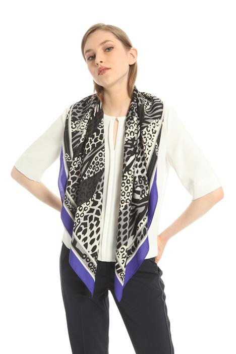 Printed foulard Intrend
