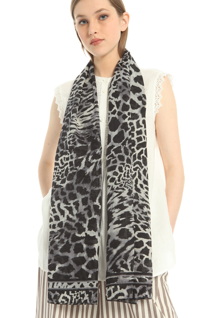 Oversized cotton stole Intrend