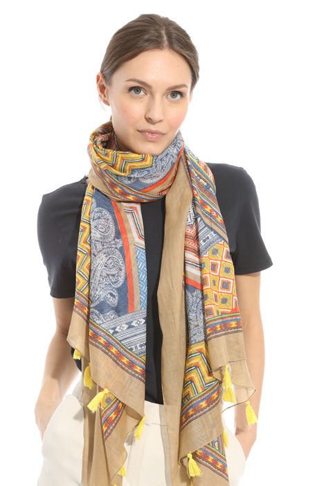 Cotton gauze scarf Intrend