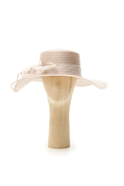 Organza satin finished hat Intrend