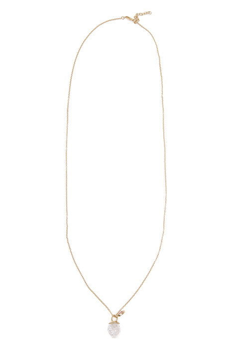 Long necklace with boule  Intrend