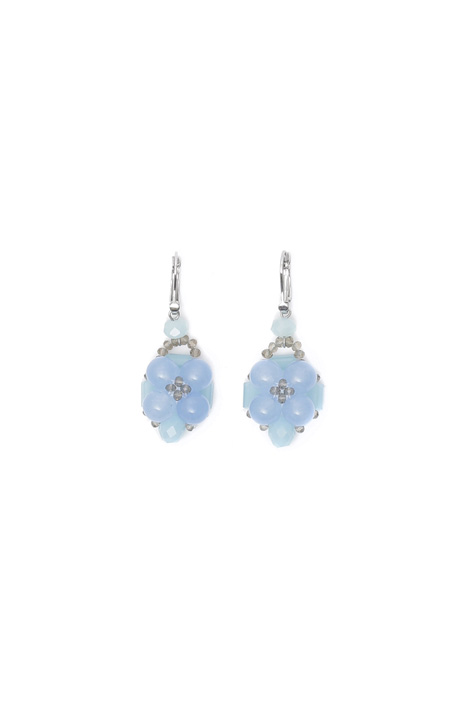 Glass earrings Intrend