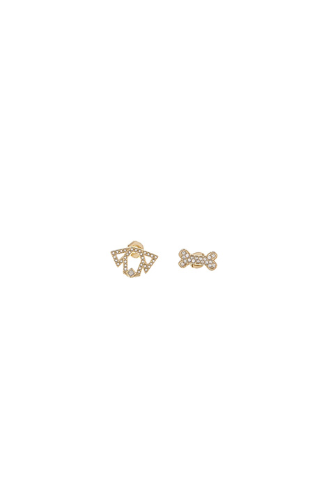 Crystal ear studs Intrend