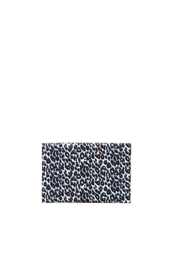 Printed canvas pochette Diffusione Tessile