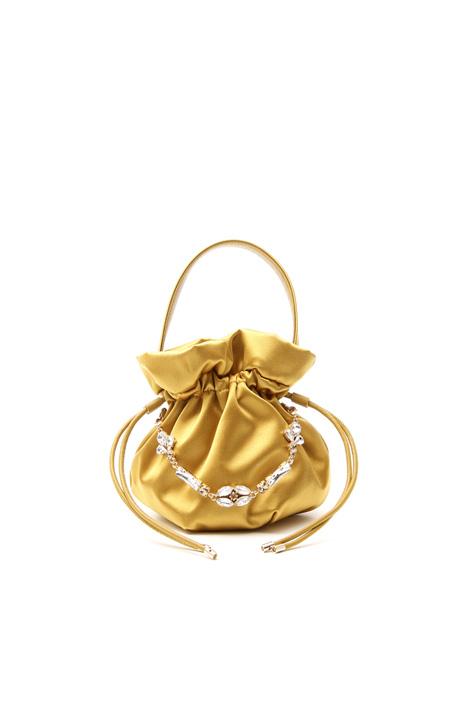 Borsa a sacchetto con gioiello Diffusione Tessile
