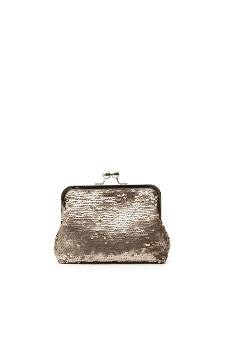 Borsa clutch con paillettes Intrend
