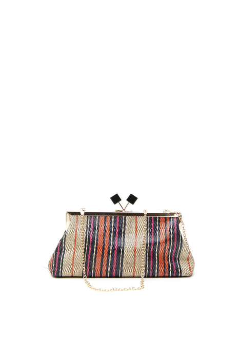 Woven clutch Intrend