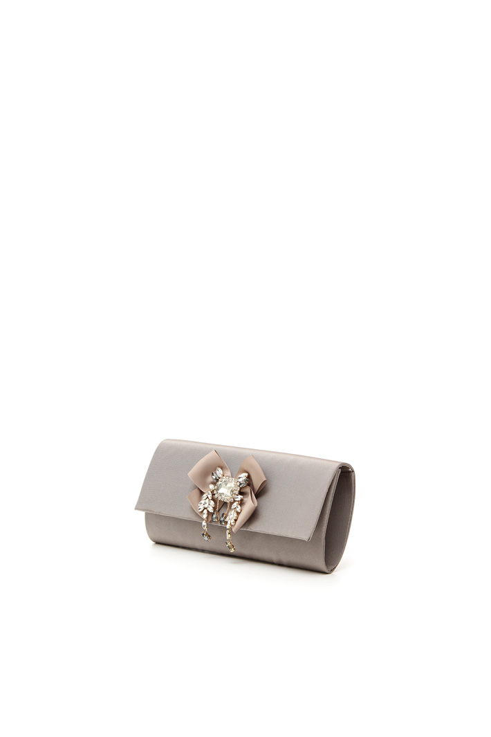 Fabric-covered pochette Intrend
