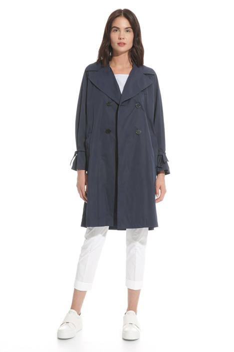 Technical twill trench coat  Intrend