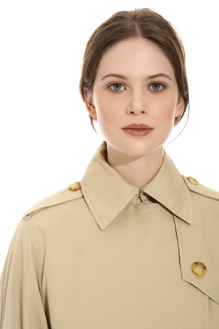 Water proof gabardine trench Intrend