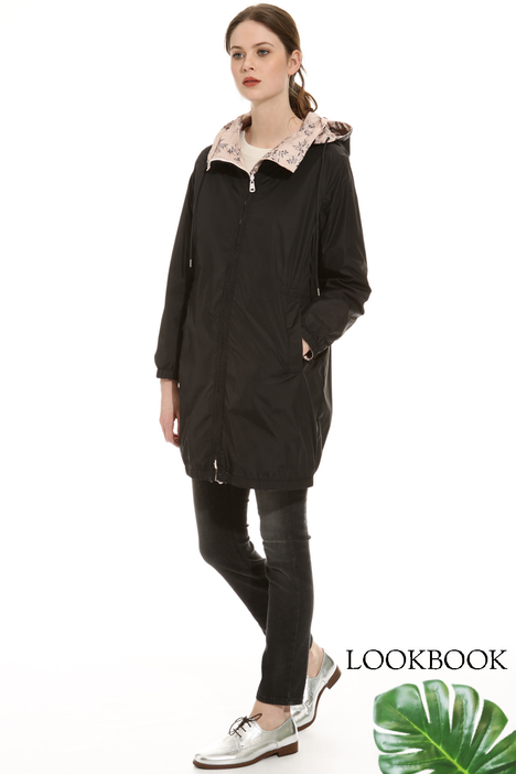 High-neck rain coat Intrend