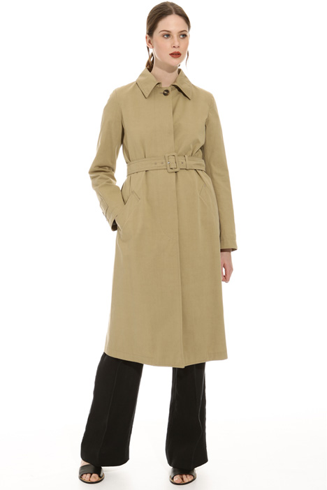 Cotton twill trench Intrend