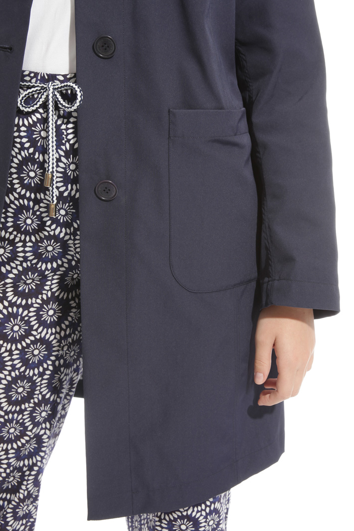 Reversible taffeta trench  Intrend