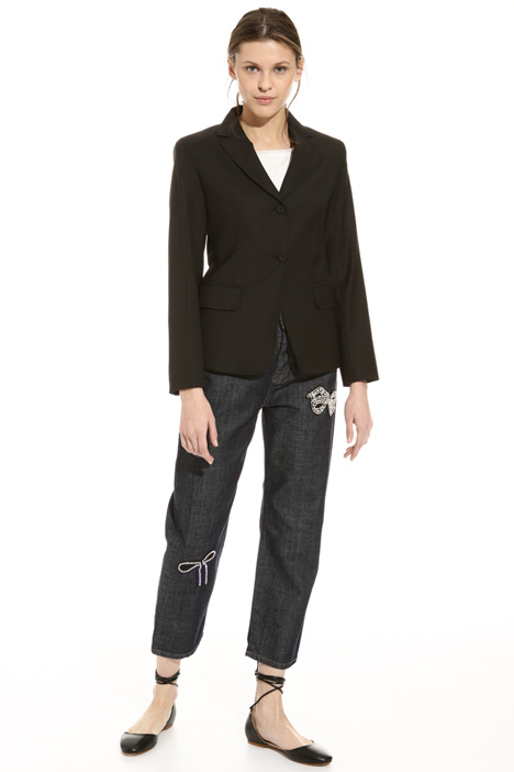 Blazer in misto lana Intrend