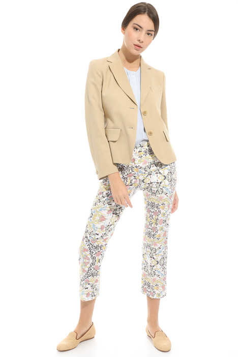 Linen and cotton blazer Intrend