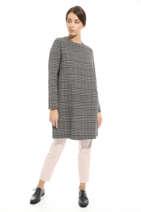 Checked coat Diffusione Tessile