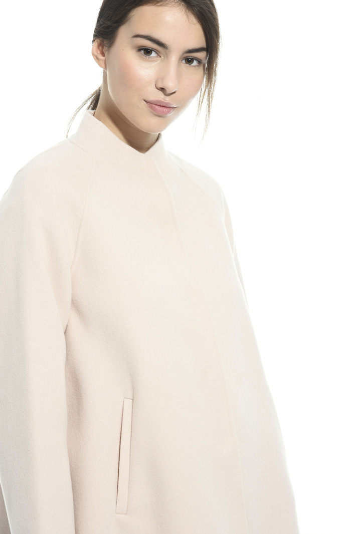 Double wool cape Intrend