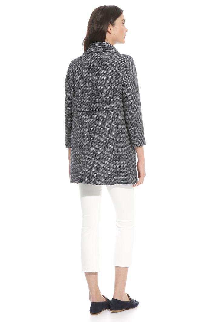 Textured fabric jacket Intrend