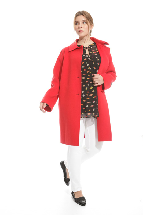 Double layer wool coat Intrend