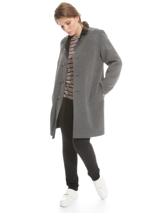 Reversible wool coat Diffusione Tessile