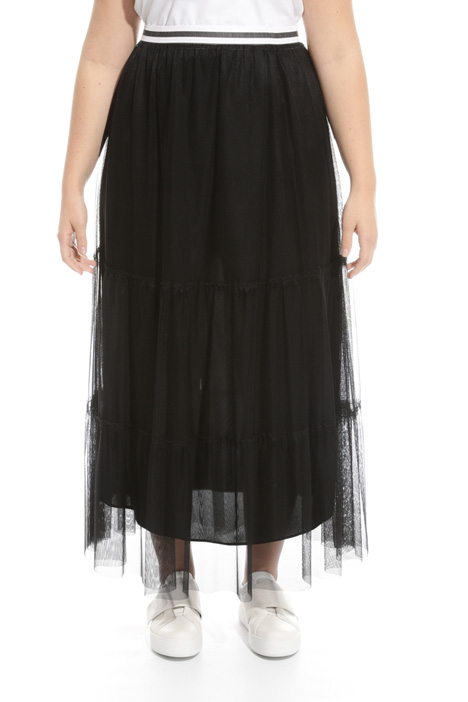 Long skirt in tulle Intrend