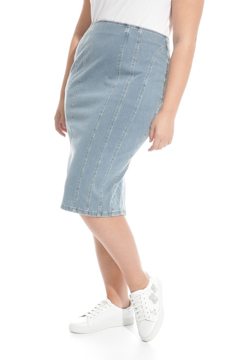 Denim pencil skirt Diffusione Tessile