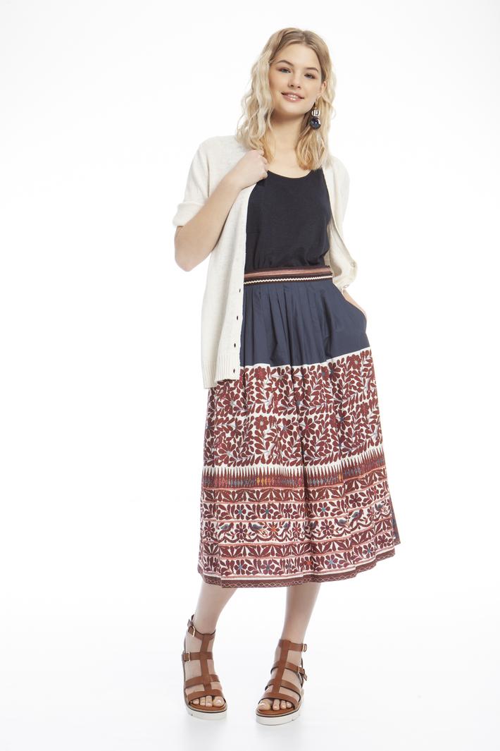Printed skirt Intrend