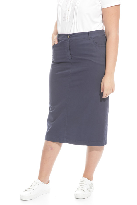 Cotton sheath skirt Intrend