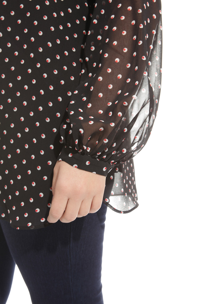 Blusa in georgette stampata Intrend