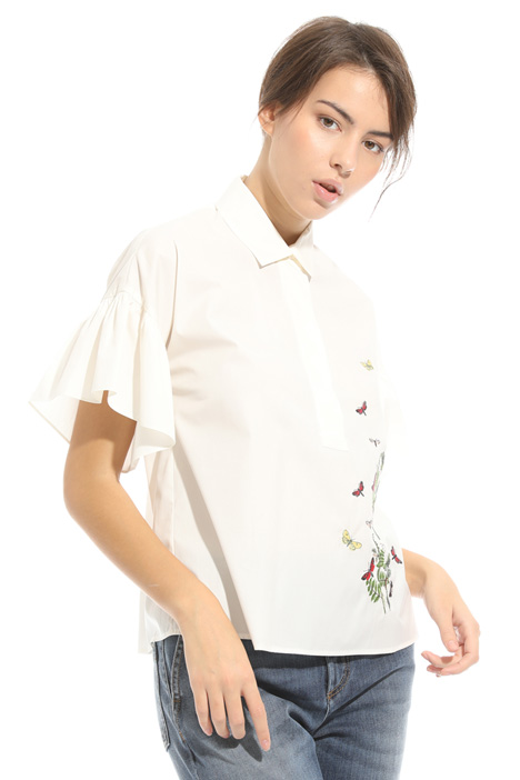 Embroidered shirt Diffusione Tessile