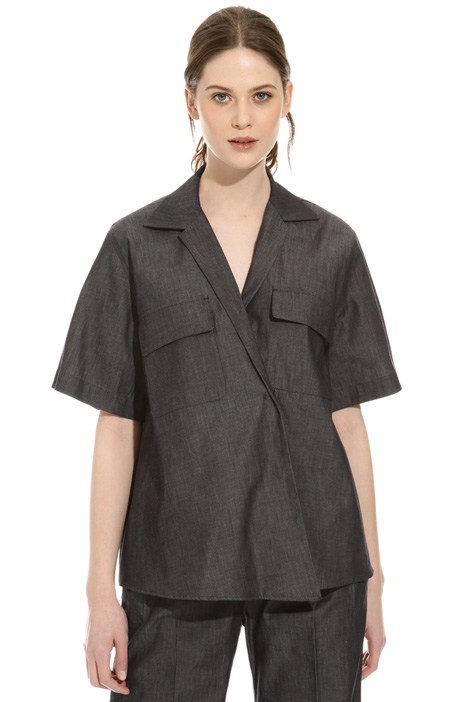 Lightweight denim tunic Intrend