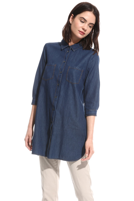 Light denim shirt Diffusione Tessile