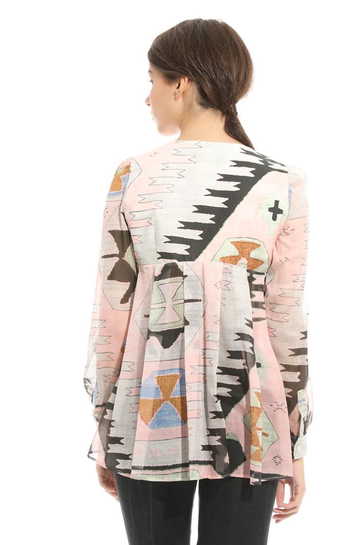 Fantasy print tunic Intrend
