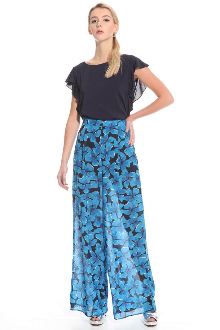 Pantalone in georgette Intrend