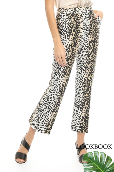 Cotton faille trousers  Intrend