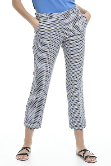 Micro pattern trousers Diffusione Tessile