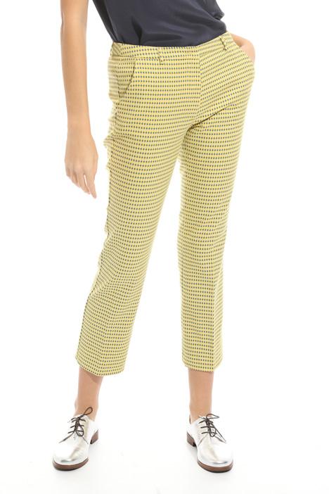 Pantalone con micro fantasia Diffusione Tessile