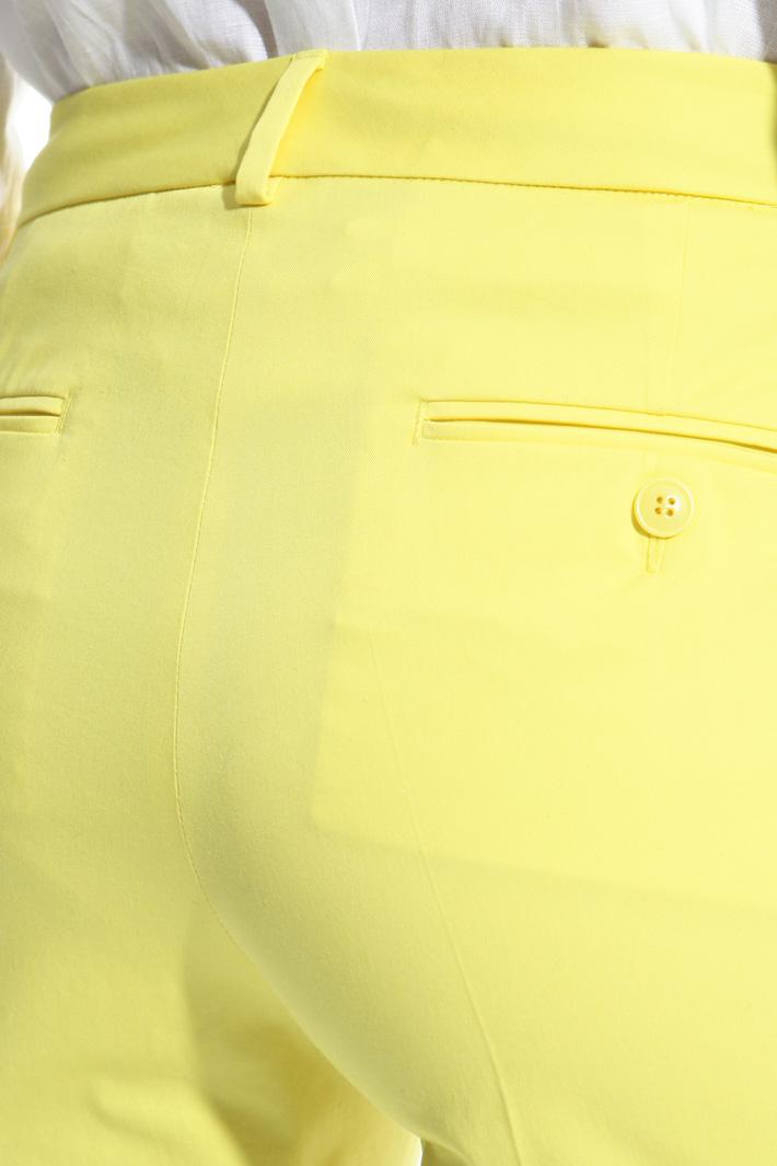 Capri trousers in cotton Intrend