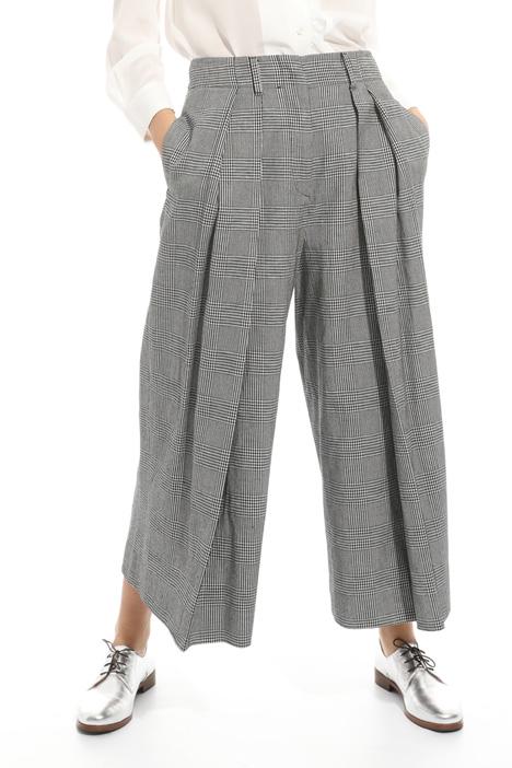 Pantalone con contropieghe Intrend