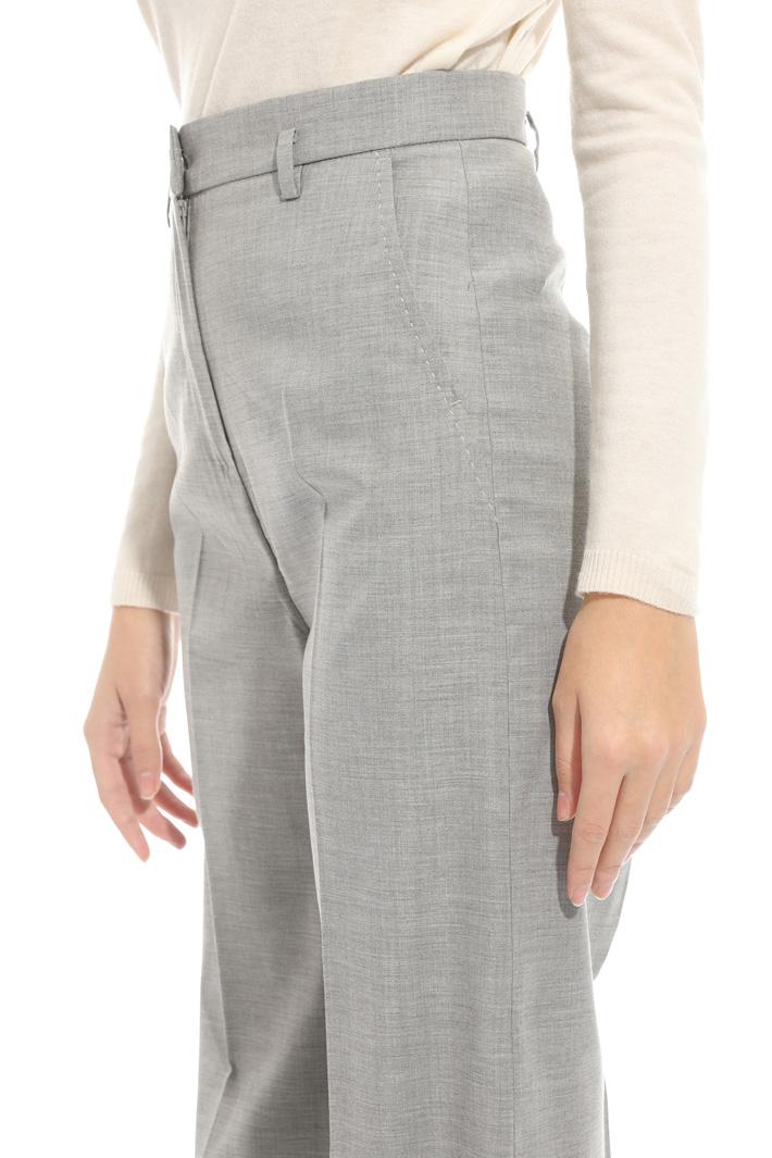 Pantalone palazzo misto lana Intrend