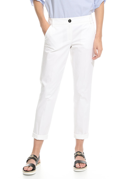 Stretch fabric trousers Diffusione Tessile