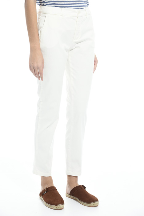 Cotton cigarette trousers Diffusione Tessile