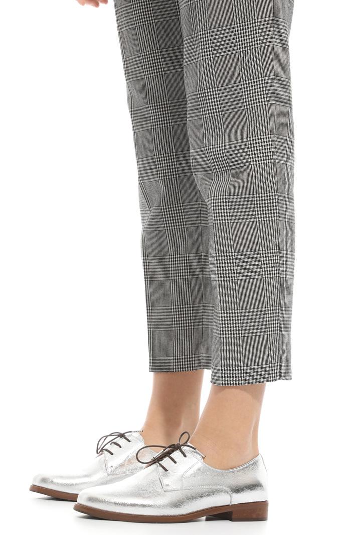 Pantalone in cotone e lino Intrend