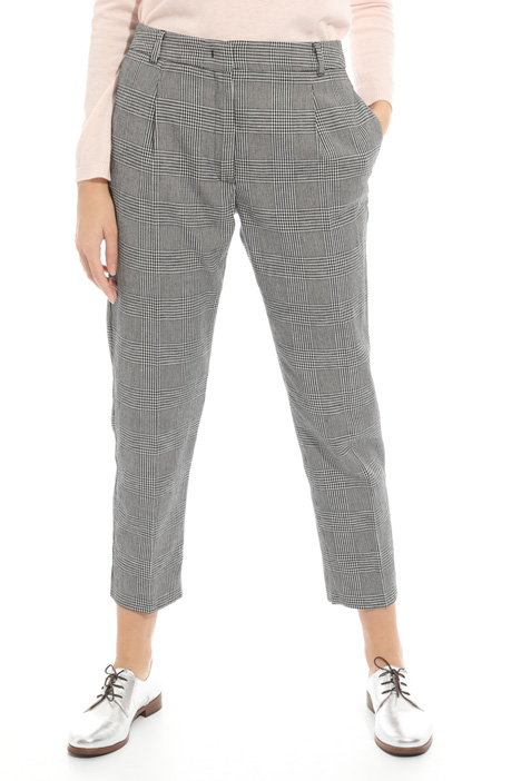 Cotton and linen trousers  Diffusione Tessile