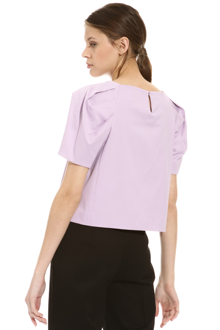Top in piquet di cotone Intrend