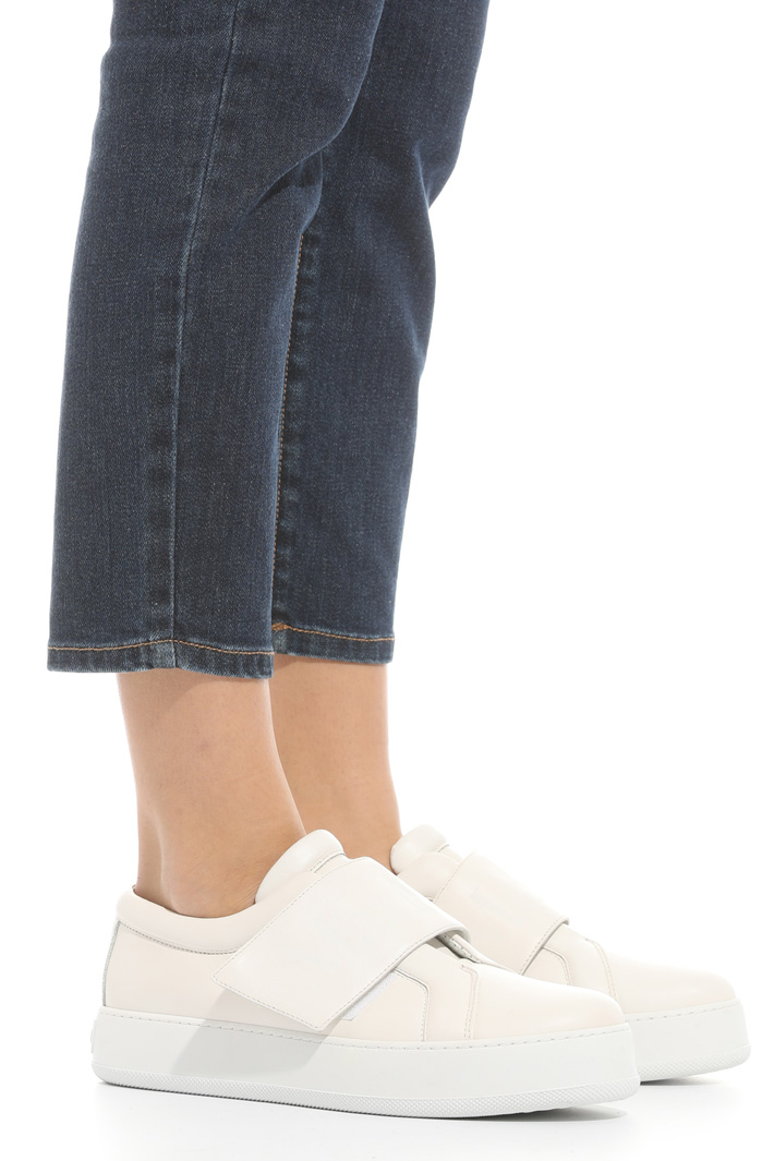 Cropped denim jeans Intrend