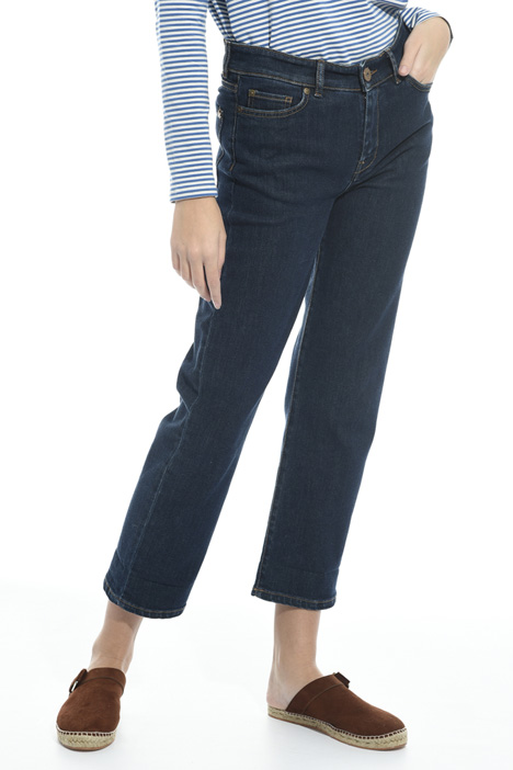 Cropped straight leg jeans Intrend