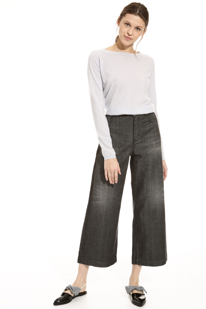Cropped five pocket jeans Intrend